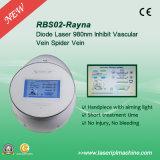 La araña sin dolor Rbs02 vetea el laser del diodo de Rbs 980nm del retiro del laser