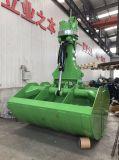 Position hydraulique tournante d'encavateur de saleté de position de bloc supérieur d'excavatrice