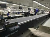 CNCコンベヤーベルトが付いているレーザーの布の打抜き機無し90009