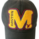 Новая помытая бейсбольная кепка с логосом Rhinestone