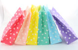 Bolso de papel Wedding impreso colorido del caramelo de la decoración
