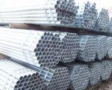 Tubo de acero galvanizado sumergido caliente de ERW Q235 para el poste de la cerca