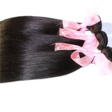 Higtの品質の自然なカラーブラジルのRemyの人間の毛髪の膚触りがよくまっすぐなバージンの毛