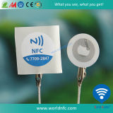 Small&#160 reescribible; NFC  Tag  Etiqueta engomada