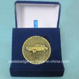 PromotionまたはSouvenirのためのカスタマイズされた3D Metal Coin Gift