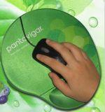 柔らかいゲルの手首残りのカスタム印刷のシリコーンのマウスパッド