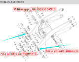 Il caricatore della rotella di Sdlg LG956 LG958 parte Bush 29160000021 per strumentazione funzionante