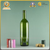 Темнота хорошего качества поставщика Китая - зеленые бутылки вина 750ml Бордо пробочки (083)