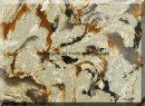 Pedra de mármore artificial projetada nova de quartzo da cor