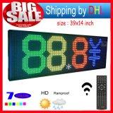 Écran LED extérieur Télécommande Message de défilement programmable Signal de LED Ouvrir 7 Tableau de message couleur