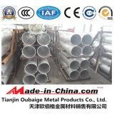 Extruido de aleación de aluminio 6063 T5 Tubo de Pipeline
