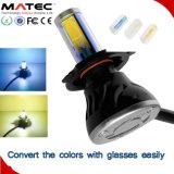 Linterna del grado LED de la MAZORCA 360 de los automóviles y de las motocicletas G5 de Guangzhou con el tubo de color