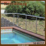 수영풀 (SJ-X1004)를 위한 케이블 방책에 있는 스테인리스 난간