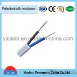 Cable sólido aislado PVC caliente de la envoltura del cable de la venta de BVV