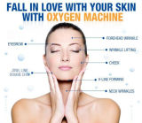 Peau de gicleur de l'oxygène de l'eau de matériel de soins de la peau pour le blanchiment de peau