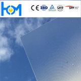 A segurança modelada de rolamento moderou o vidro solar laminado coletor do arco da energia