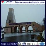 Stahlbrücke Zelle-Stahl Gebäude Stall-Stahl Gebäude-Träger