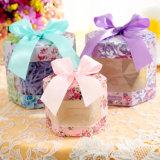 Rectángulo coreano del caramelo del estilo de los productos encantadores de la boda, rectángulo transparente con la ventana, rectángulo del caramelo del caramelo para el cumpleaños