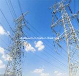 Ligne de transport d'énergie de qualité tour en acier de cornière