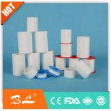 Chirurgische Zelfklevende Katoenen van het Oxyde van het Zink Band met Plastic Dekking