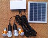 система света освещения светильника солнечной батареи СИД 4PCS 1W перезаряжаемые