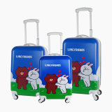 Oem China Factory Customized Printing PC Trolley Luggage