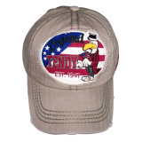Бейсбольная кепка помытая способом с логосом Gjwd1712 Applique