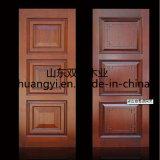 Mdf-bündige hölzerne Tür mit Qualität PU-Farbanstrich