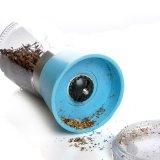 Botella de cristal manual con el molino de la sal/la amoladora de la sal/la amoladora de la especia/la amoladora de pimienta/el molino de pimienta