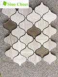 Glasmischungs-Stein-Laterne-Mosaik-Fliese Backsplash