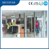 Seguridad de los exploradores del equipaje del rayo de los aeropuertos X