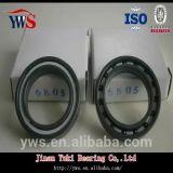 PTFEのケージが付いている窒化珪素の球6806の開いたタイプ完全なSi3n4陶磁器ベアリング