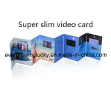 Projeto moderno cartão video de 4.3 polegadas para o dia da ação de graças