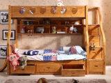 صلبة خشبيّ سرير غرفة [بونك بد] أطفال [بونك بد] ([م-إكس2210])