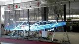 LED che fa pubblicità alla visualizzazione, visualizzazione di LED trasparente di vetro, visualizzazione di tabella del LED