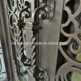Heiße Verkäufe Hand-Schmiedeten Eisen-Eingangs-Haustüren