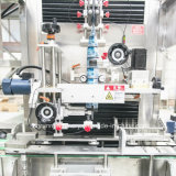 Pvc/het Huisdier krimpt de Verpakkende Machine van de Etikettering van de Koker voor Flessen