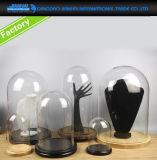Campana de cristal de cristal de encargo de la reproducción de la bóveda para la lámpara y la Navidad