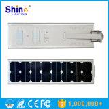 Poder más elevado todo en una luz de calle solar del LED 5W 6W 8W 9W 12W 15W 18W 30W 40W 50W 60W 70W 80W