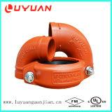 Соединение трубы дуктильного утюга высокого качества Grooved для системы защиты спринклера пожара