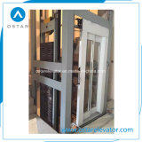 Las piezas del elevador con alta calidad de cristal Decoración de cabina (OS41)