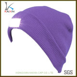 カスタム冬によって編まれる帽子LEDの帽子の帽子