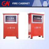 Шкаф огнетушителя высокого качества для бой пожара