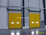 Автоматическая надземная секционная дверь гаража