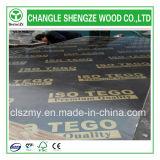 A película da boa qualidade do CE do ISO enfrentou a madeira compensada