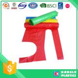 Delantal impermeable disponible del plástico de la cocina del hogar
