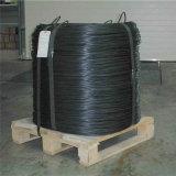 Fio recozido preto do ferro como fio obrigatório, amarrando o fio, algodão que afiança o fio