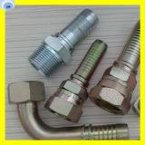 Garnitures hydrauliques de compactage extrayant des embouts de durites