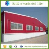 Entrepôt préfabriqué personnalisé de structure métallique