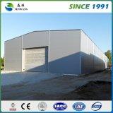 Oficina Pre-Projetada construção da construção de aço com parede do parapeito (SW005)